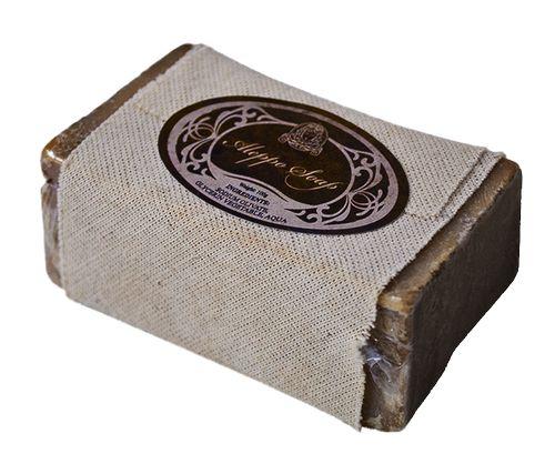 Přírodní olivové mýdlo Aleppo - obal bavlna
