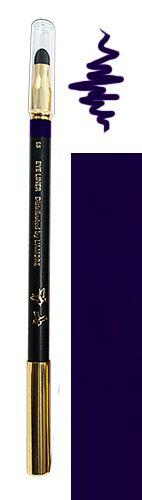 Tužka na oči s houbičkou 05 modrá