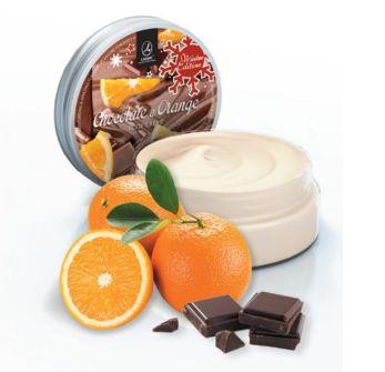 Tělový krém - Pomeranč- čokoláda