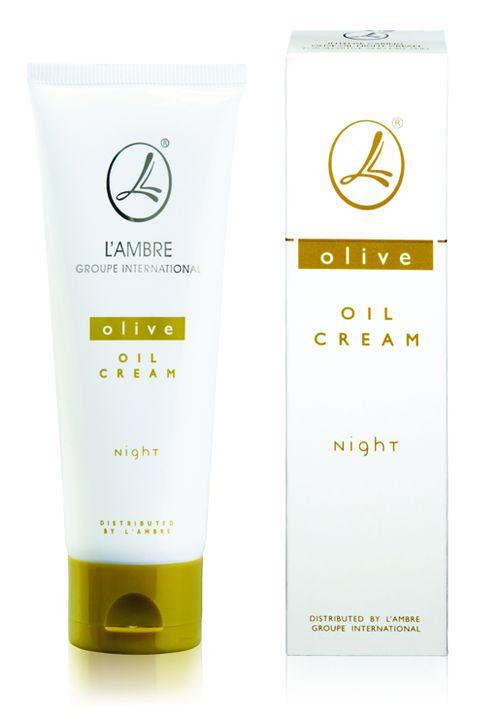 Olivový nočný krém Lambre prr citlivú pleť