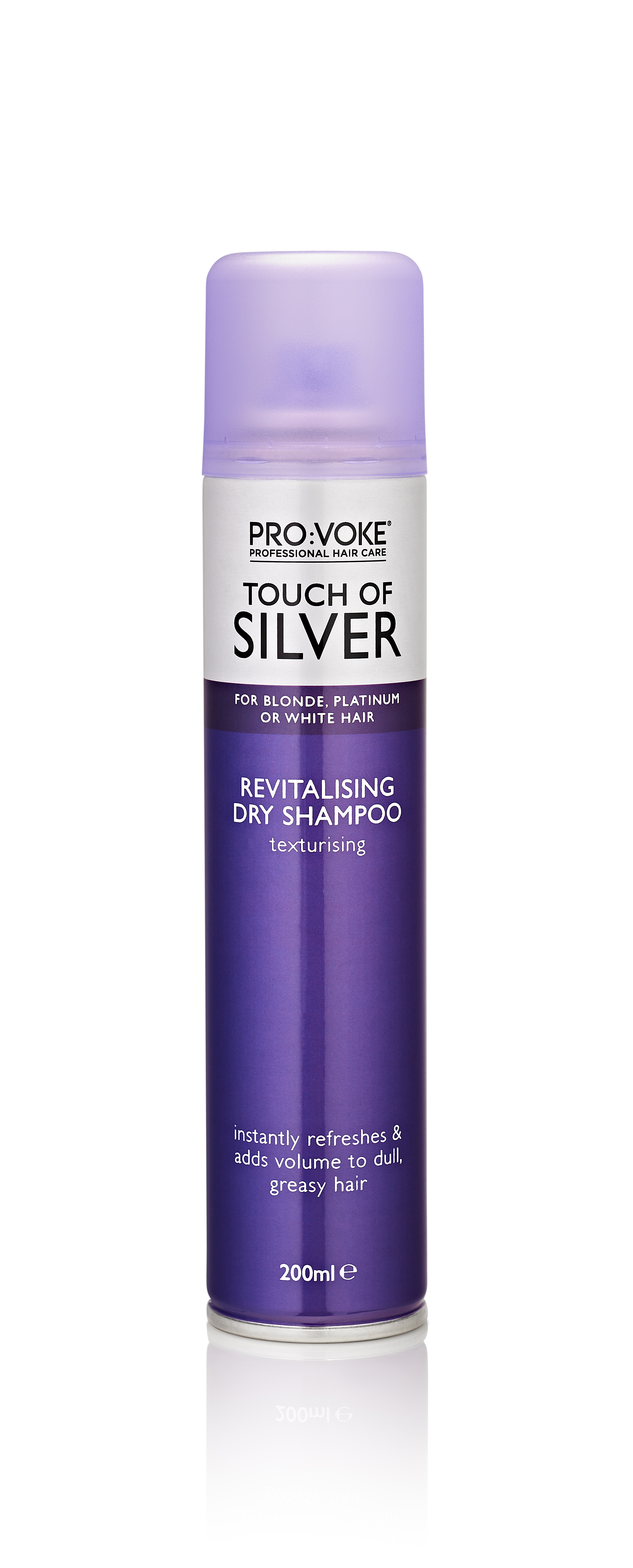 PRO:Voke suchý šampon TOUCH OF SILVER 200 ml