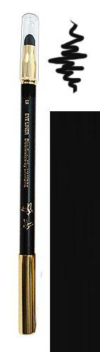 Tužka na oči s houbičkou 09 černá